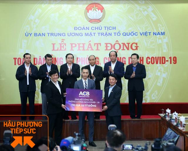 ACB ủng hộ 10 tỷ vào Quỹ vắc -xin, Chủ tịch ngân hàng trẻ nhất Việt Nam nói: Không cái khó nào là quá khó để đi qua, khi mà đời sống còn những điều tử tế dành cho nhau - Ảnh 2.