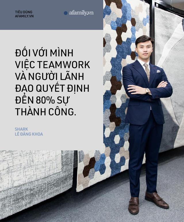 Shark Lê Đăng Khoa: Nếu muốn khởi nghiệp thì tiền là một phần, quan trọng là kỹ năng khác biệt - Ảnh 4.