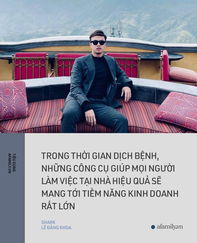 Shark Lê Đăng Khoa: Nếu muốn khởi nghiệp thì tiền là một phần, quan trọng là kỹ năng khác biệt - Ảnh 6.