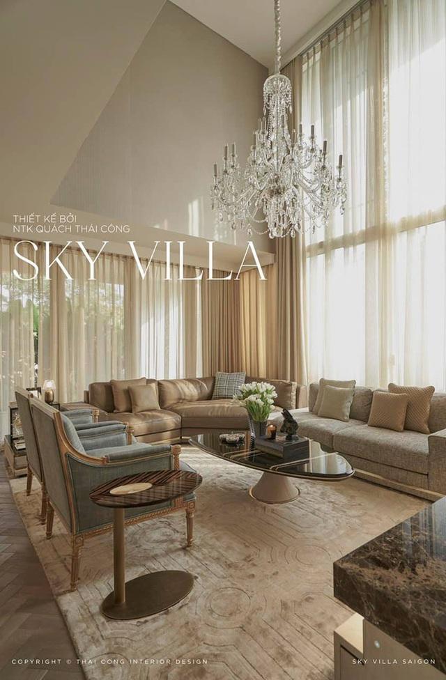 Nữ đại gia thuê Thái Công thiết kế sky villa 200 tỷ: Tôi hạnh phúc khi soi mình trong chiếc gương 2 tỷ - Ảnh 3.