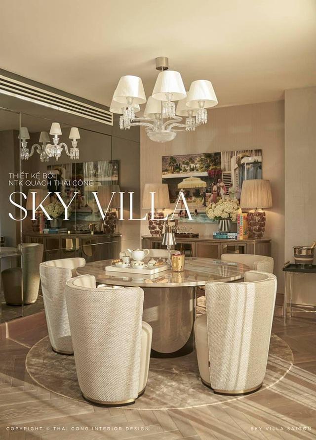Nữ đại gia thuê Thái Công thiết kế sky villa 200 tỷ: Tôi hạnh phúc khi soi mình trong chiếc gương 2 tỷ - Ảnh 4.