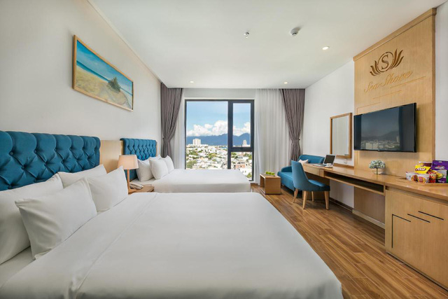 Đà Nẵng mở lại hoạt động tắm biển, loạt khách sạn 4 sao giảm giá chạm đáy: Chỉ 400 ngàn đồng/đêm, vị trí trung tâm, rating cao vút 8-9 điểm - Ảnh 5.