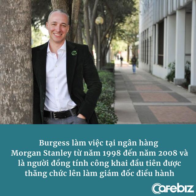 CEO đồng tính đầu tiên của Morgan Stanley: 'Cuộc đời không công bằng, thành công là sự trả thù ngọt ngào nhất' - Ảnh 1.