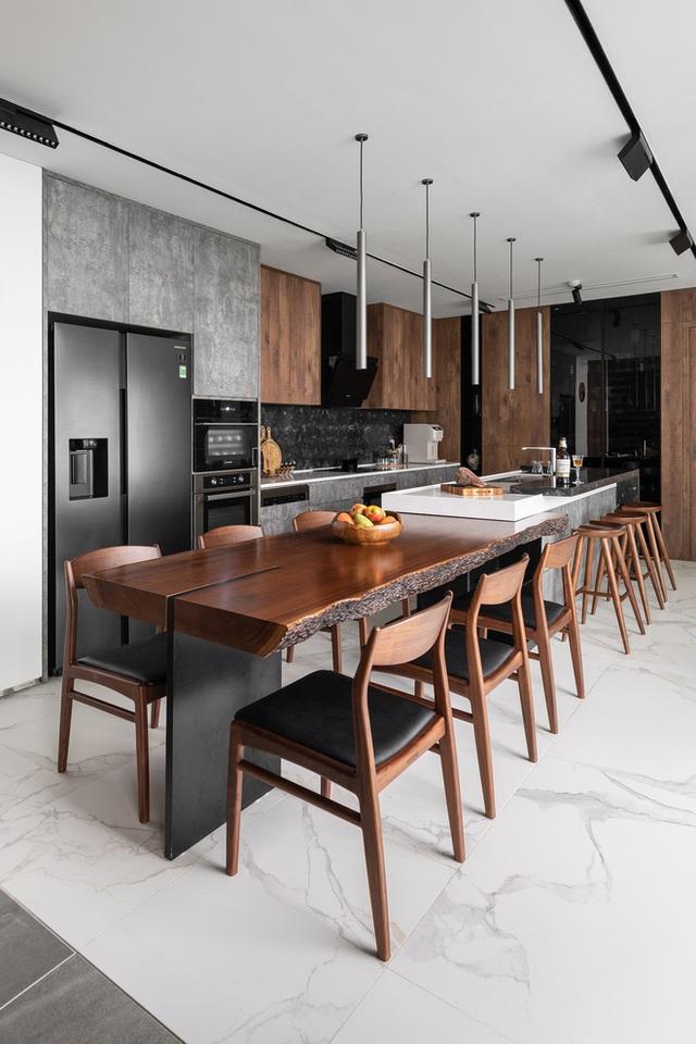 Vợ chồng 9X chi 5 tỷ cải tạo penthouse, dành hẳn 150m2 làm khu vườn trên cao để chill tại gia - Ảnh 12.