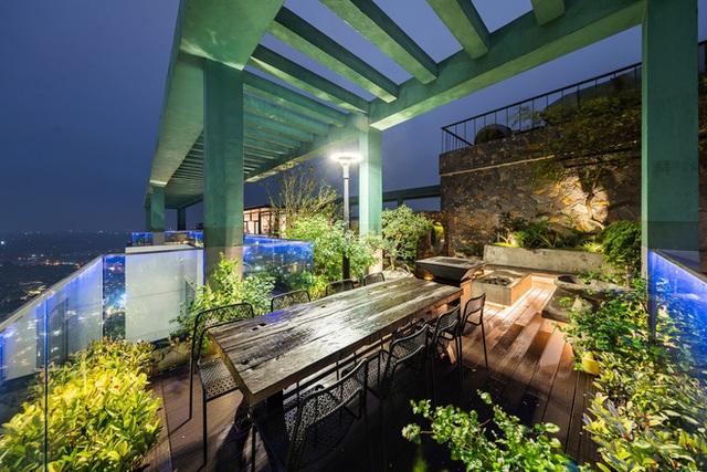 Vợ chồng 9X chi 5 tỷ cải tạo penthouse, dành hẳn 150m2 làm khu vườn trên cao để chill tại gia - Ảnh 27.