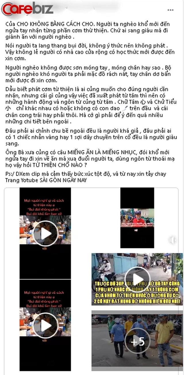 Tuấn Dương - chủ kênh YouTube từ thiện từ chối phát cơm cho người bụi đời, sơn móng tay - đeo vàng gây phẫn nộ MXH là ai? - Ảnh 5.