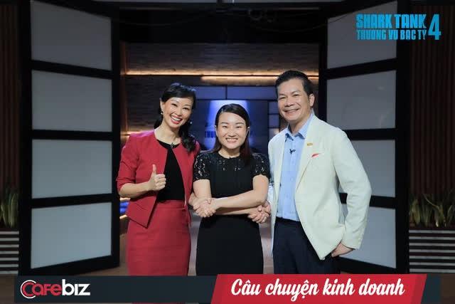 Shark Linh 'trở lại và lợi hại hơn xưa': Gặp startup đúng 'khẩu vị' liền chốt deal nhanh gọn lẹ cùng shark Hưng - Ảnh 3.