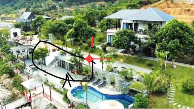 Ảnh quảng cáo biệt thự nhưng khách tới L. Villa Sóc Sơn phải ở dãy nhà trọ, quản lí khinh thường nói khách giẻ rách, ghê gớm - Ảnh 2.