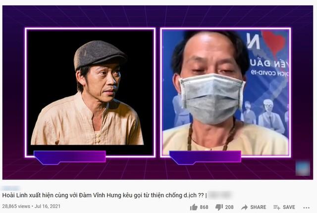 Xôn xao clip Hoài Linh đeo khẩu trang kêu gọi quyên góp chống dịch: 100 ngàn, 50 ngàn gì cũng được, càng nhiều càng ít - Ảnh 1.