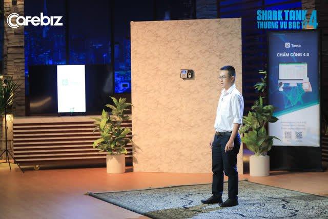 """Shark Bình gọi thẳng startup TanCa là """"kẻ đào mỏ"""": Kinh doanh phần mềm chấm công bằng camera AI, GPS công nghệ """"bình thường"""", chưa có lãi nhưng định giá tận 5 triệu USD - Ảnh 1."""