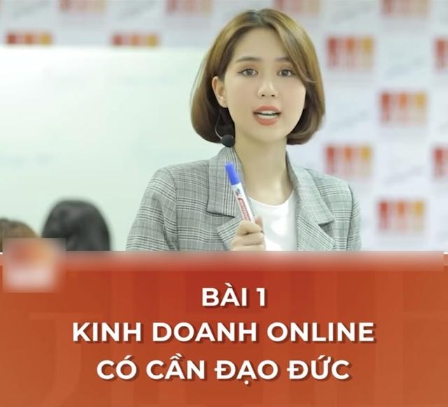 CEO Ngọc Trinh nghiêm túc giảng bài: Kinh doanh online cần có đạo đức - Ảnh 5.