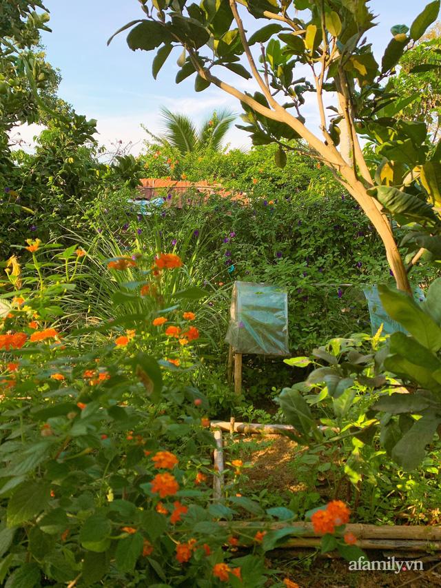 Cuộc sống yên bình bên khu vườn 2000m² sau hai năm bỏ phố về quê của cặp vợ chồng 9X  - Ảnh 17.