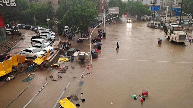 'Mưa lớn nhất 1.000 năm' gây lụt nặng ở tỉnh miền trung Trung Quốc - Ảnh 7.