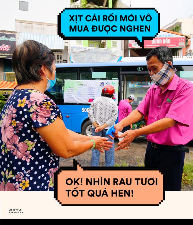 Người Sài Gòn lên xe buýt để... mua rau củ, thịt cá giá bình ổn, vẫn đảm bảo an toàn nhưng quan trọng là cái gì cũng tươi ngon!  - Ảnh 7.