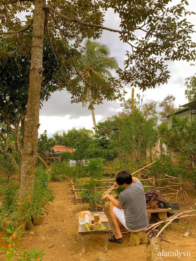 Cuộc sống yên bình bên khu vườn 2000m² sau hai năm bỏ phố về quê của cặp vợ chồng 9X  - Ảnh 8.