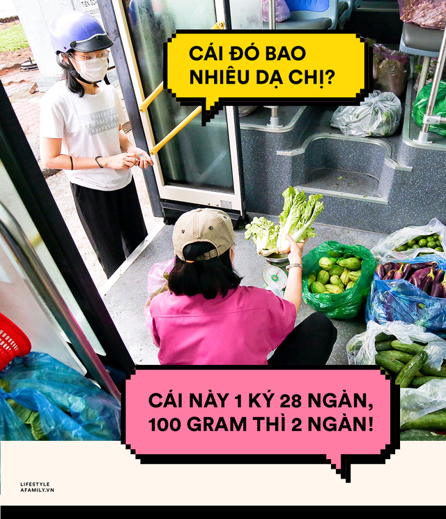 Người Sài Gòn lên xe buýt để... mua rau củ, thịt cá giá bình ổn, vẫn đảm bảo an toàn nhưng quan trọng là cái gì cũng tươi ngon!  - Ảnh 8.