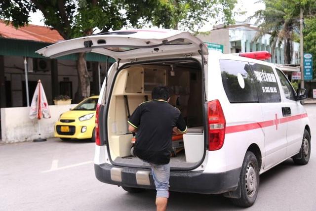 Gia đình 4 người đạp xe từ Đồng Nai đã về đến Nghệ An, được đưa đi cách ly tập trung - Ảnh 8.