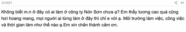 Dân mạng xôn xao review làm việc tại Nón Sơn - nơi được gọi đùa là Kingsman Việt Nam: Lương cao nhưng camera tứ phía, có máy ghi âm, không được dùng điện thoại! - Ảnh 1.