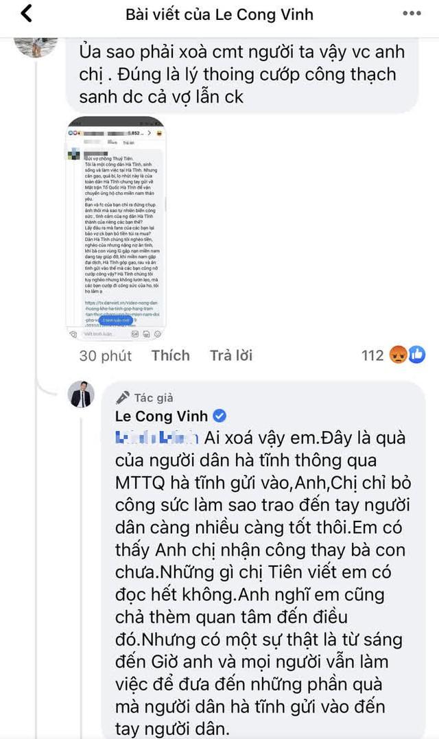 """Thuỷ Tiên bị tố """"nhận vơ"""" cả trăm tấn lương thực người dân Hà Tĩnh tiếp tế cho Sài Gòn, Công Vinh bức xúc lên tiếng phân trần - Ảnh 2."""