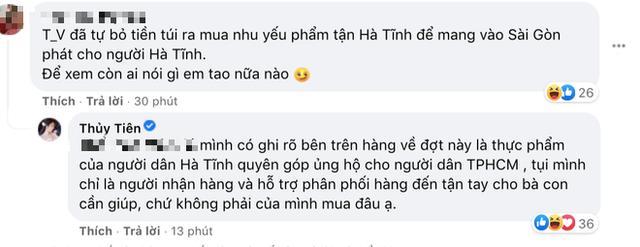 """Thuỷ Tiên bị tố """"nhận vơ"""" cả trăm tấn lương thực người dân Hà Tĩnh tiếp tế cho Sài Gòn, Công Vinh bức xúc lên tiếng phân trần - Ảnh 4."""