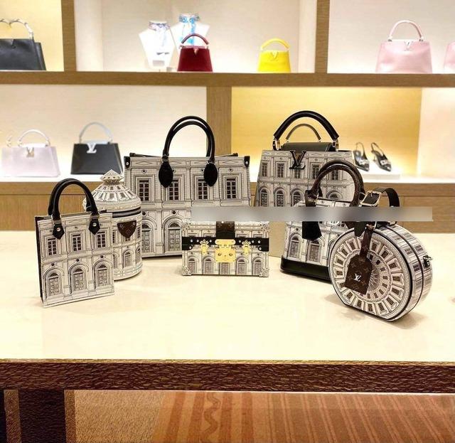 Phát hiện Louis Vuitton có túi mới in hình giống biệt thự Thái Công thiết kế cho mình, nữ đại gia xây lâu đài 400 tỷ đồng chốt đơn luôn? - Ảnh 1.