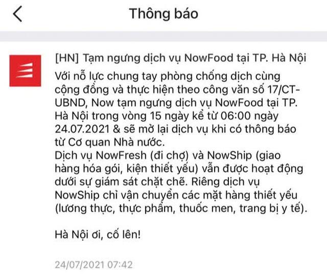 Quán xá Hà Nội đồng loạt đóng cửa, không một bóng dáng shipper trong ngày đầu thực hiện chỉ thị 16 - Ảnh 2.