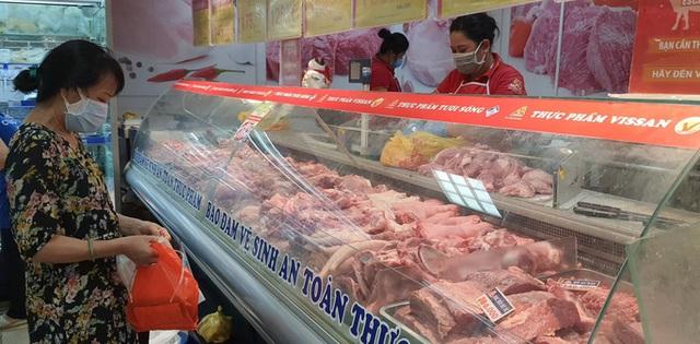 Thực hư việc Vissan ngừng cung cấp một số mặt hàng thịt heo vì sự cố trong nhà máy - Ảnh 1.