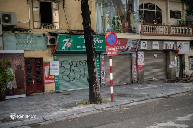 Quán xá Hà Nội đồng loạt đóng cửa, không một bóng dáng shipper trong ngày đầu thực hiện chỉ thị 16 - Ảnh 12.