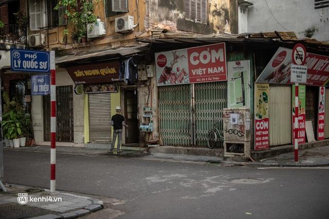 Quán xá Hà Nội đồng loạt đóng cửa, không một bóng dáng shipper trong ngày đầu thực hiện chỉ thị 16 - Ảnh 15.