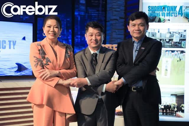 Thường xuyên lúng túng trước những vặn hỏi về thuật ngữ chuyên môn của Shark Phú, startup dầu lạc Tâm Trường Sinh vẫn ra về với 10 tỷ đồng - Ảnh 3.
