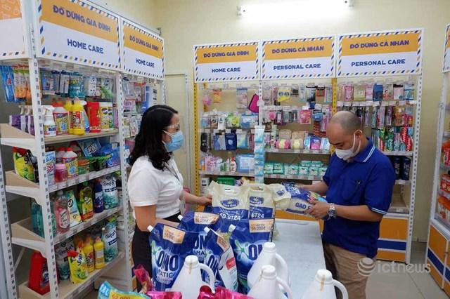 Hai doanh nghiệp bưu chính lớn sẽ chuyển hàng từ siêu thị đến người dân Hà Nội - Ảnh 1.