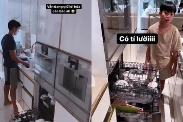 Hồ Ngọc Hà khoe biệt thự mới 30 tỷ đồng: Nội thất căn bếp hàng trăm triệu đồng, góc nào trong nhà cũng xịn như studio - Ảnh 12.