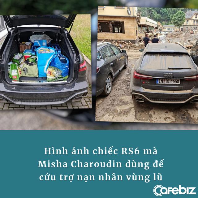 Audi gây phẫn nộ khi trách YouTuber đem xe do hãng cho mượn đi cứu trợ lũ lụt: 'Xe của chúng tôi nên chạy ở đường đua' - Ảnh 1.