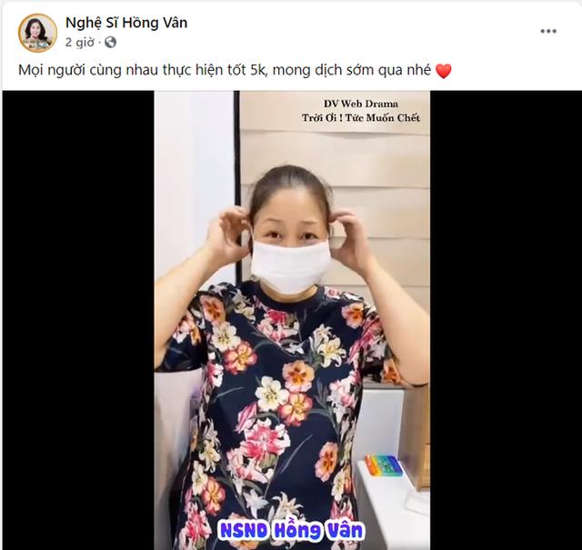 Fanpage Hồng Vân bất ngờ bỏ danh hiệu Nghệ sĩ nhân dân ra khỏi tên: Chuyện gì đã xảy ra? - Ảnh 2.