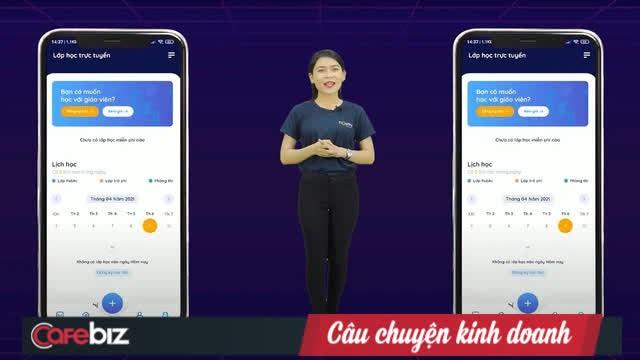 Trung tâm giáo dục đóng cửa vì Covid, startup của vợ Shark Bình chuyển sang làm phần mềm học online cho học sinh dựa trên AI, sau 1 tháng lọt top iOS và Android - Ảnh 1.