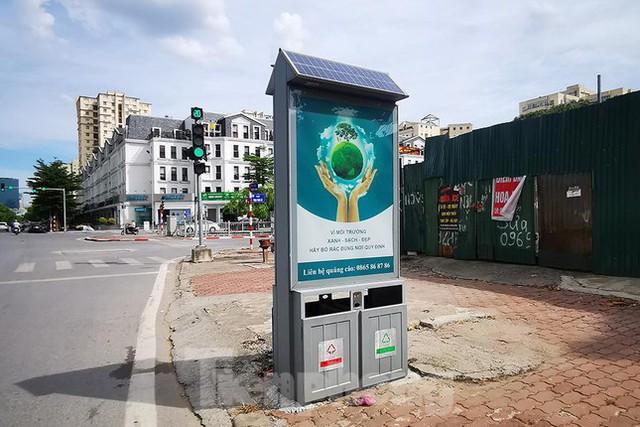 Mô hình thùng rác công nghệ trị giá 200 tỷ đồng ở Hà Nội hiện ra sao? - Ảnh 1.
