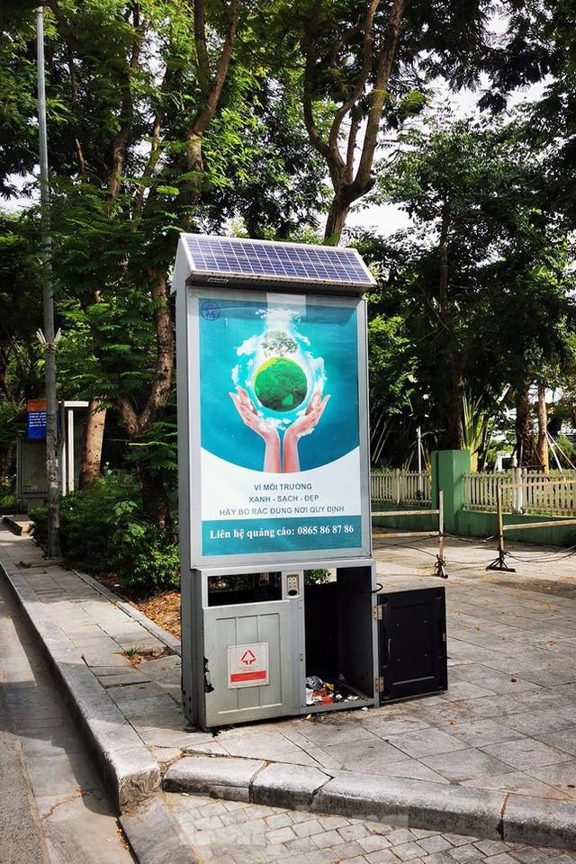 Mô hình thùng rác công nghệ trị giá 200 tỷ đồng ở Hà Nội hiện ra sao? - Ảnh 12.
