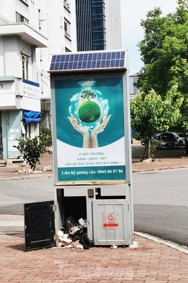 Mô hình thùng rác công nghệ trị giá 200 tỷ đồng ở Hà Nội hiện ra sao? - Ảnh 5.