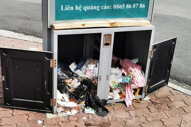 Mô hình thùng rác công nghệ trị giá 200 tỷ đồng ở Hà Nội hiện ra sao? - Ảnh 7.