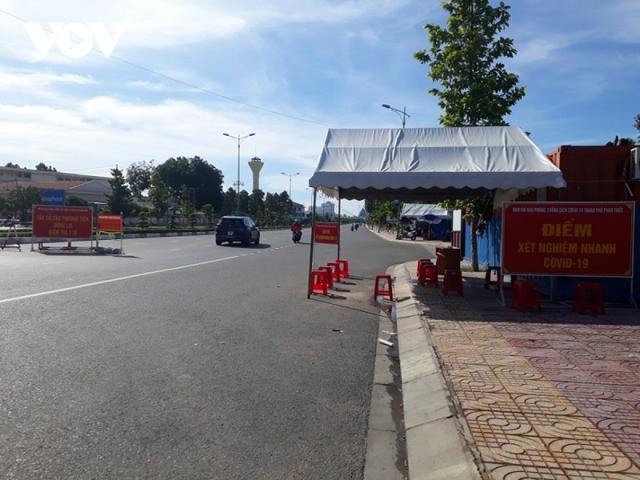 Giãn cách toànthành phố Phan Thiết từ ngày 2/8 theoChỉ thị số 16  - Ảnh 1.