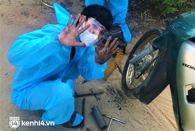 Hành trình 1400 km chạy xe máy từ miền Nam về quê của những người lao động nghèo tha hương - Ảnh 15.