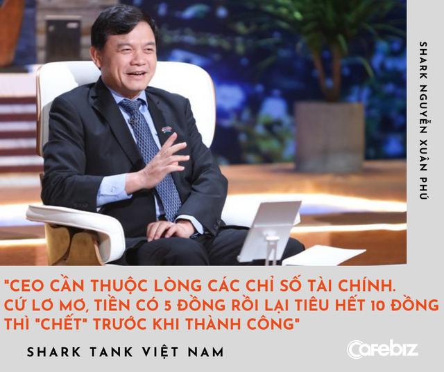 Shark Phú đúc kết lời vàng ngọc sau mùa Shark Tank sóng gió: Cần thuộc lòng các chỉ số tài chính, tướng mạo cực kỳ quan trọng - đặc biệt với CEO nữ - Ảnh 1.