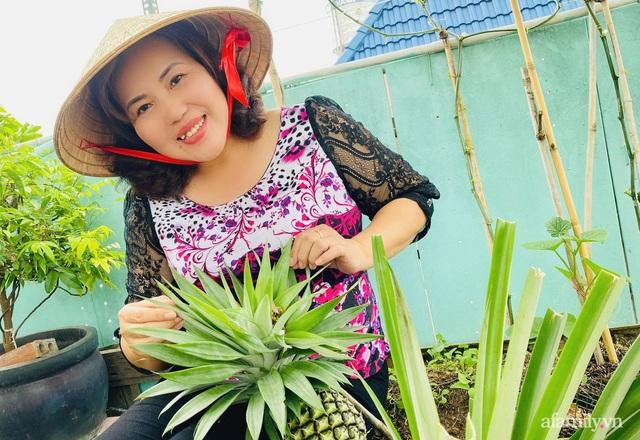 Khu vườn xanh tươi không khác gì nông trại trên sân thượng ở TP Thủ Đức, Sài Gòn - Ảnh 20.