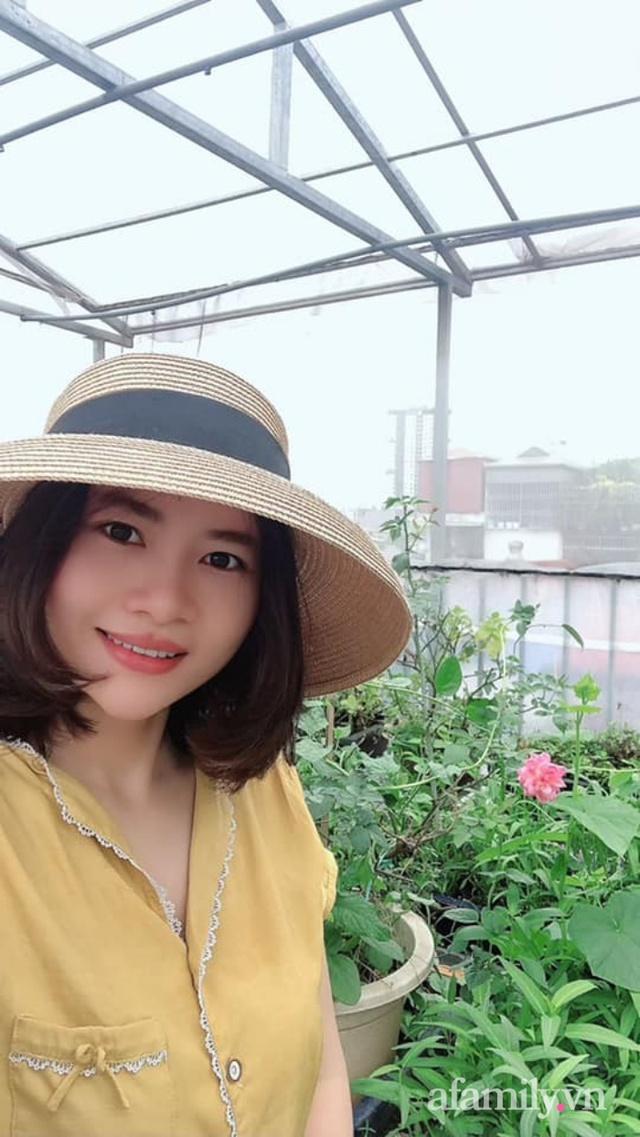 Siêu thị rau quả sạch không thiếu thứ gì trên sân thượng 70m² ở Hà Nội - Ảnh 5.
