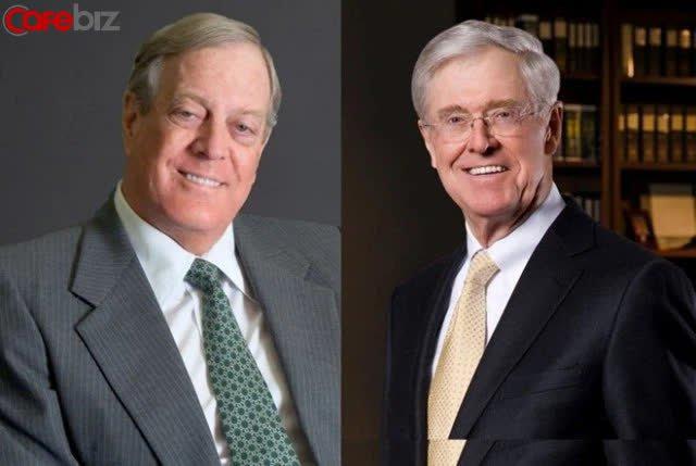 Bị anh em kiểm soát, đấu tranh nội bộ, làm thế nào Koch trở thành tập đoàn tư nhân lớn nhất Hoa Kỳ, giá trị tăng gấp 5000 lần so với khi khởi sự? - Ảnh 2.