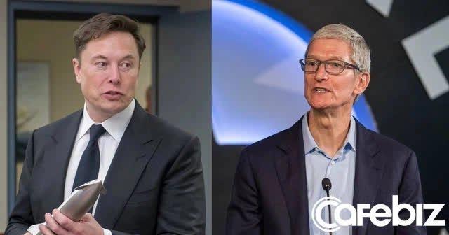Gọi điện đề nghị bán Tesla với điều kiện sẽ là CEO Apple, Elon Musk khiến Tim Cook văng tục và cúp máy ngay lập tức - Ảnh 1.
