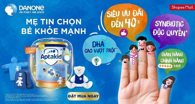Danone Specialized Nutrition giới thiệu sản phẩm dinh dưỡng trên Shopee, khởi động trào lưu sống khỏe tại Đông Nam Á - Ảnh 1.