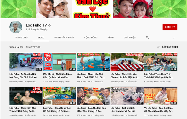 Hơn 250.000 người xem livestream dạy trộn vữa, trát tường: Lộc Fuho là ai? - Ảnh 3.