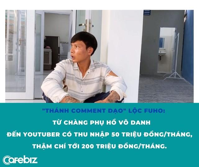 Hơn 250.000 người xem livestream dạy trộn vữa, trát tường: Lộc Fuho là ai? - Ảnh 4.