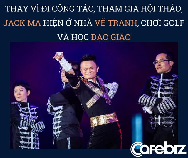 Hậu vận không ngờ của Jack Ma: Từ ngôi sao sáng chói vụt tắt sau 1 đêm vì hành động như doanh nhân kiểu Mỹ, sống ẩn dật, chuyên tâm vẽ tranh, học Đạo giáo - Ảnh 1.